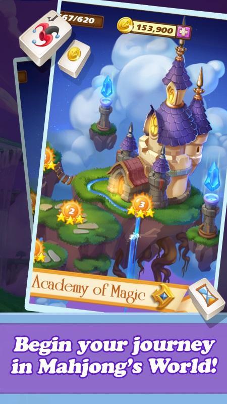 Mahjong Magic Islands screenshot 1