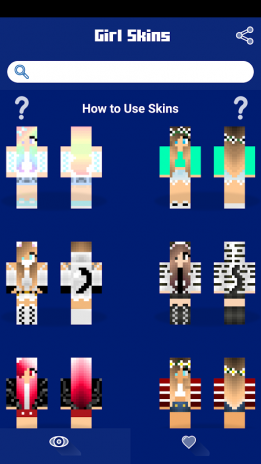 تحميل Apk لأندرويد آبتويد Girl Skins For Minecraft Pe10