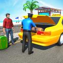 City Taxi Driver 2021: US Crazy Cab Simulator