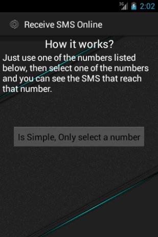 Receive SMS Online 2 2 Download APK for Android - Aptoide