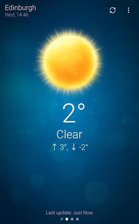 Tempo - Weather screenshot 1