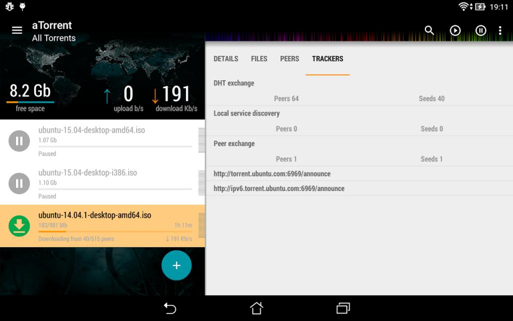 aTorrent - torrent downloader | Download APK for Android ...