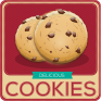 cookies and brownies recipes icon