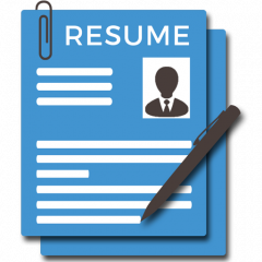 make my resume icon