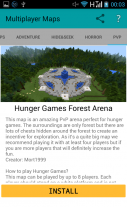 Multiplayer Maps for Minecraft Screenshot