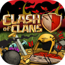 Clash of Clans game and guide download Icon