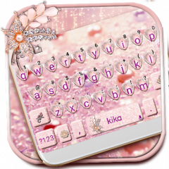 Diamond Pearl Heart Keyboard Theme 1 0 Download APK for Android