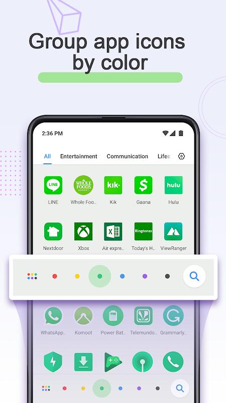 POCO Launcher 2.0 screenshot 1