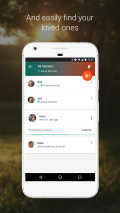 Trusted Contacts Screenshot