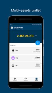 BitUniverse - Crypto Portfolio / Bittrex tracker screenshot 8