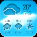 Free weather forecast app& widget ⛈