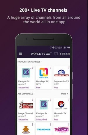 World TV GO 1 2 0 Download APK for Android - Aptoide
