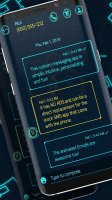 New hacker 2019 sms messenger theme Screen