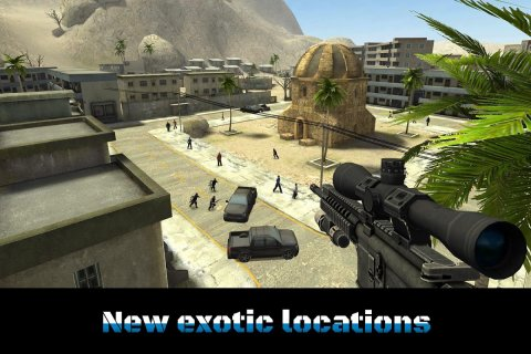 Sniper Ops 3D - Shooting Game screenshot 19
