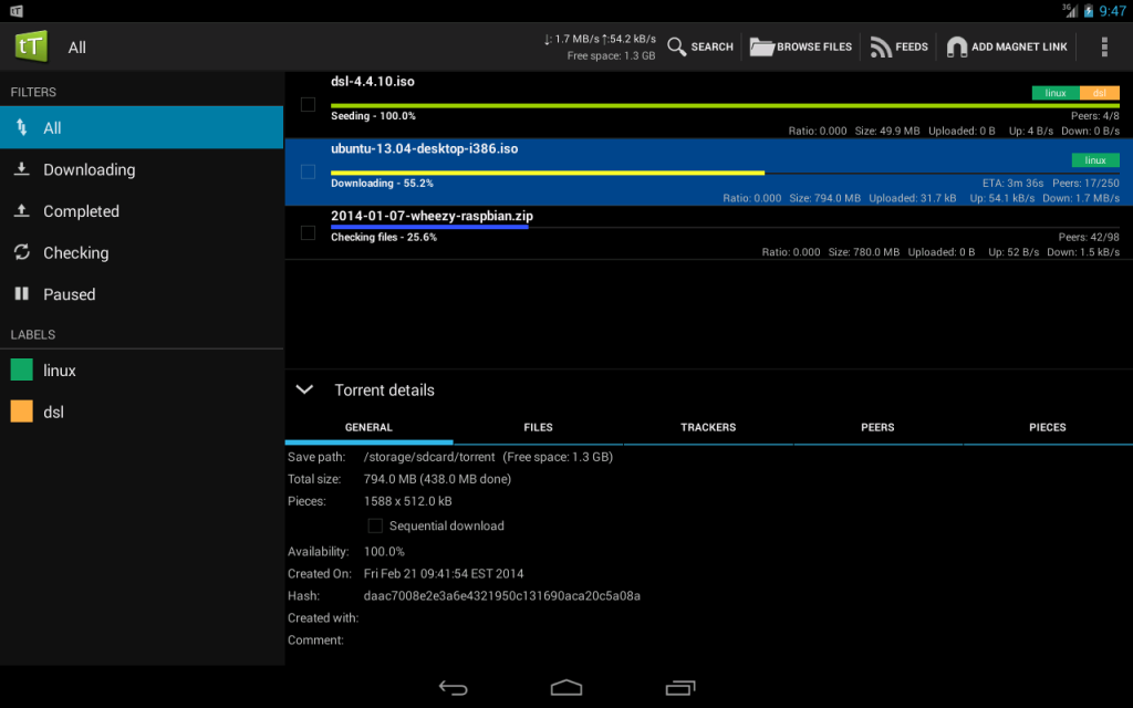 t torrent pro apk free download