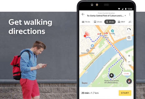 Yandex.Maps screenshot 3