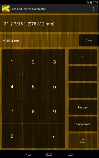 feet inches calculator download apk for android aptoide. Black Bedroom Furniture Sets. Home Design Ideas