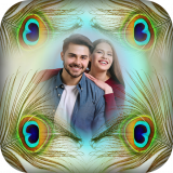 Feathers Photo Frames - peacock blur effect editor Icon