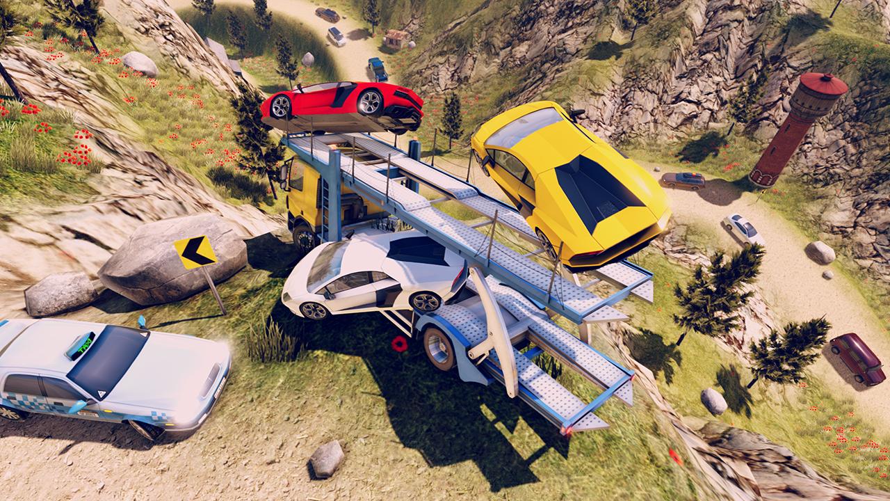 John: Truck Car Transport screenshot 1