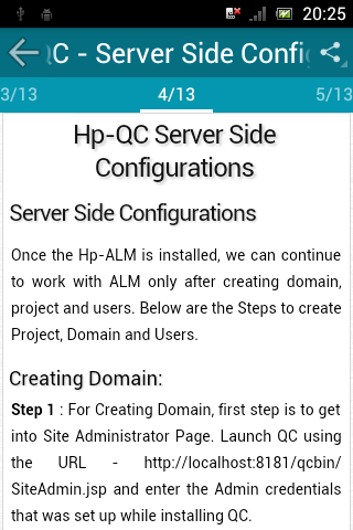 Learn QC (HP Quality Center) screenshot 2