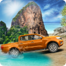 Offroad Mountain 4x4 Truck 3D Icon