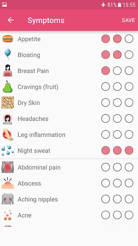 WomanLog Period Tracker & Calendar screenshot 5