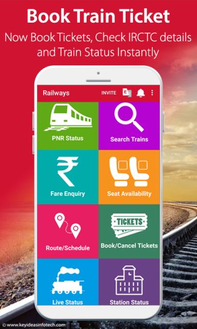 Indian Rail IRCTC PNR Status 429