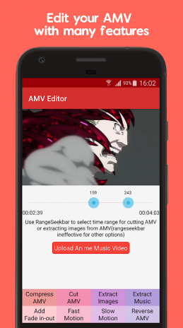 Anime Music Video Editor - AMV Editor 1 1 Download APK for Android