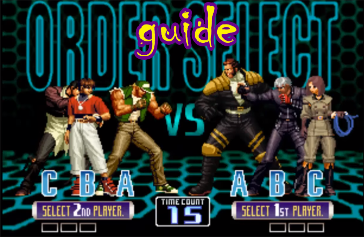 Guide King of Fighters 2002 screenshot 2