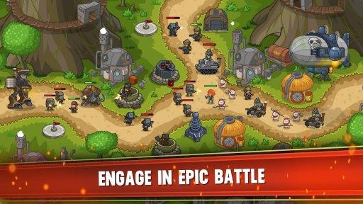 Steampunk Defense: Tower Defense screenshot 5