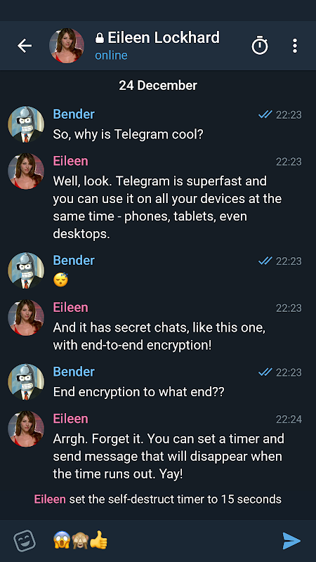 Telegram X screenshot 3