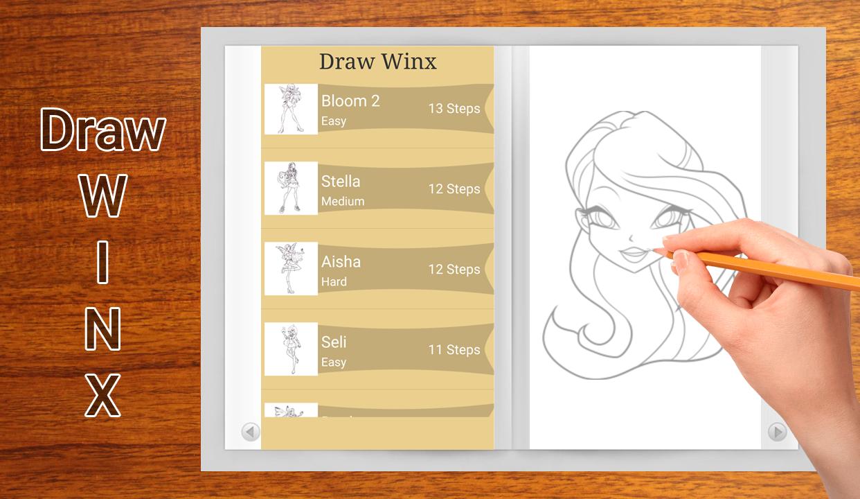 Скачать приложение как рисовать винкс скачать программу masterskae flest