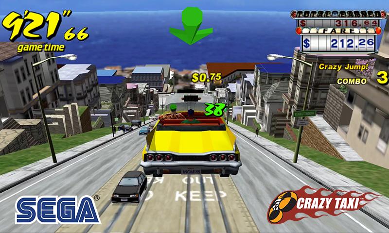 Crazy Taxi Classic screenshot 1
