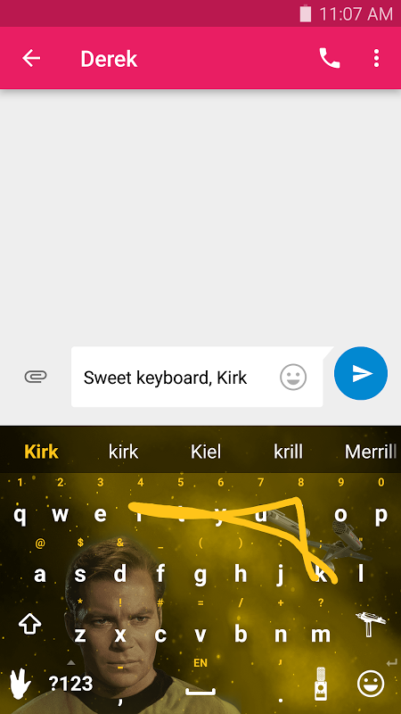 Swype Keyboard screenshot 2