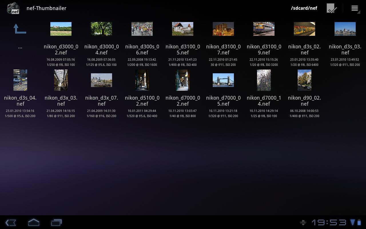 nef-Thumbnailer screenshot 1
