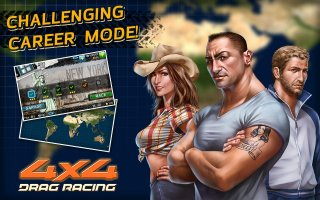 Drag Racing 4x4 Screen