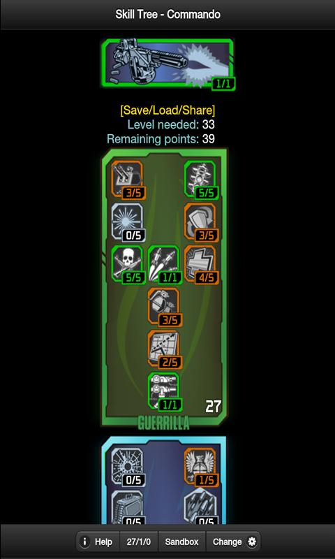 Borderlands 2 Skill Tree screenshot 1