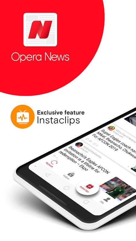 Opera News - Trending news and videos screenshot 1
