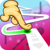 Follow the Line 2D Deluxe Icon