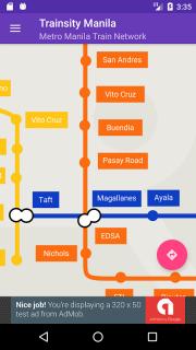 Trainsity Manila LRT MRT PNR screenshot 1