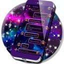 Amazing Galaxy SMS Theme