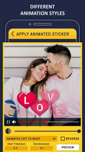 Animated Stickers On Video Apply Gif On Video 1 2 Download Android Apk Aptoide