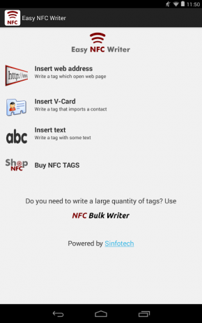 Easy NFC Writer 2 3 Download APK for Android - Aptoide