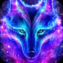 Galaxy Wolf Live Wallpaper