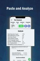 Text Analyzer Pro Screen