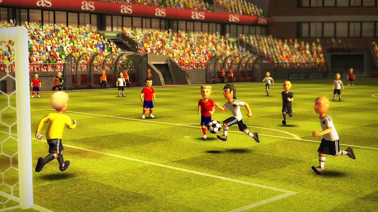 Striker Soccer Euro 2012 screenshot 2