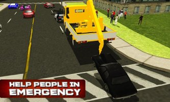 City Tow Truck Simulator 3D Screen