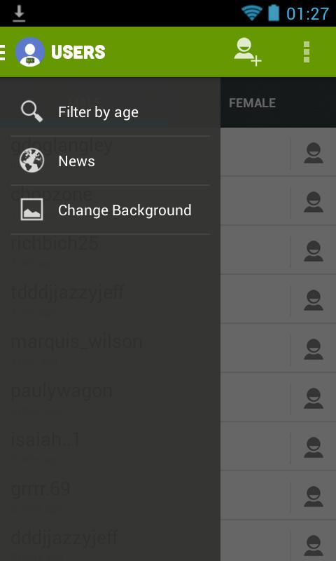 List of female kik users