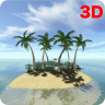 3D Tropical Island wallpaper Icon