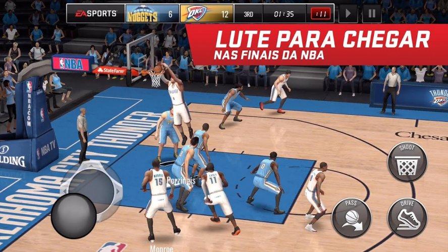 NBA LIVE Mobile Basquete screenshot 5